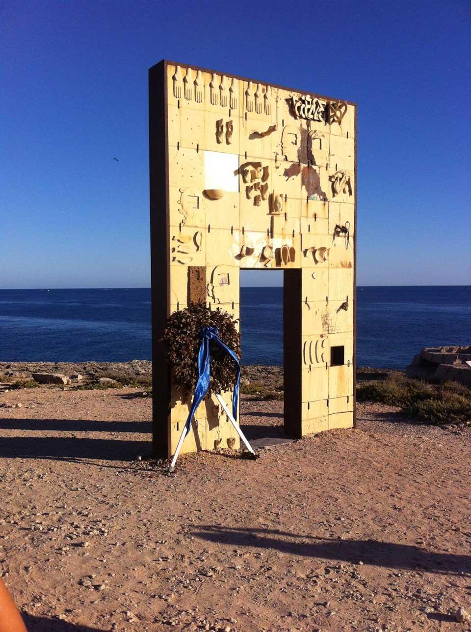 Porta d'Europa di Lampedusa
