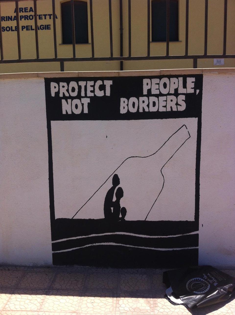 La mia esperienza a Lampedusa