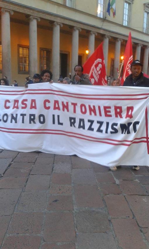 Casa Cantoniera contro il razzismo