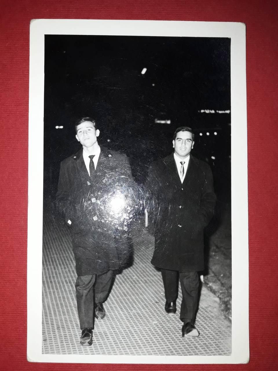 1965 Prima di uscire dalla Siria, io per l'Italia e il mio amico d'infanzia Obagi per gli USA