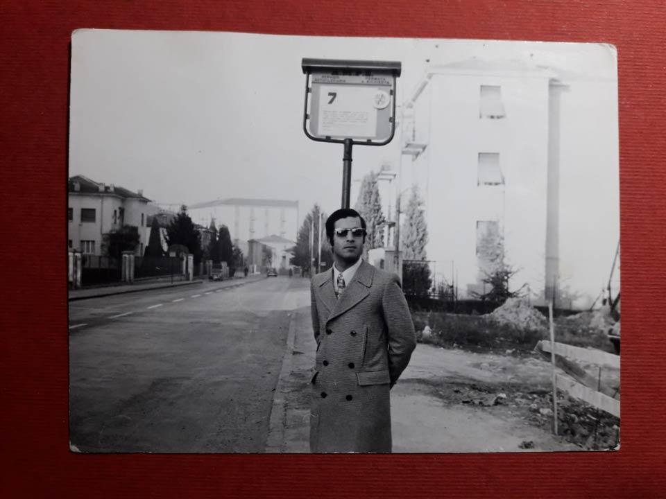 L'arrivo a Parma in via Langhirano