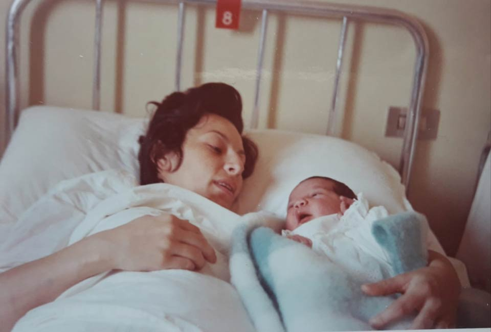Elvira e nostro figlio Yahia