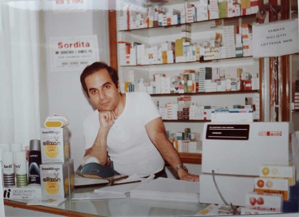 La vecchia farmacia comunale di Scurano (Parma)