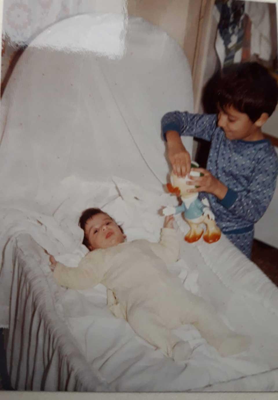Yahia con il nostro secondo figlio Walid